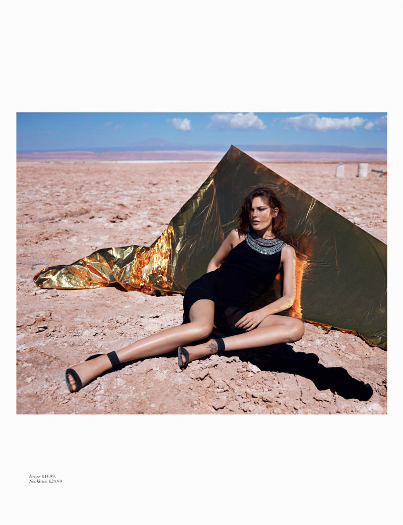 hm fantastic voyage7 Catherine McNeil Takes a Fantastic Voyage for H&M Magazine Summer 2013