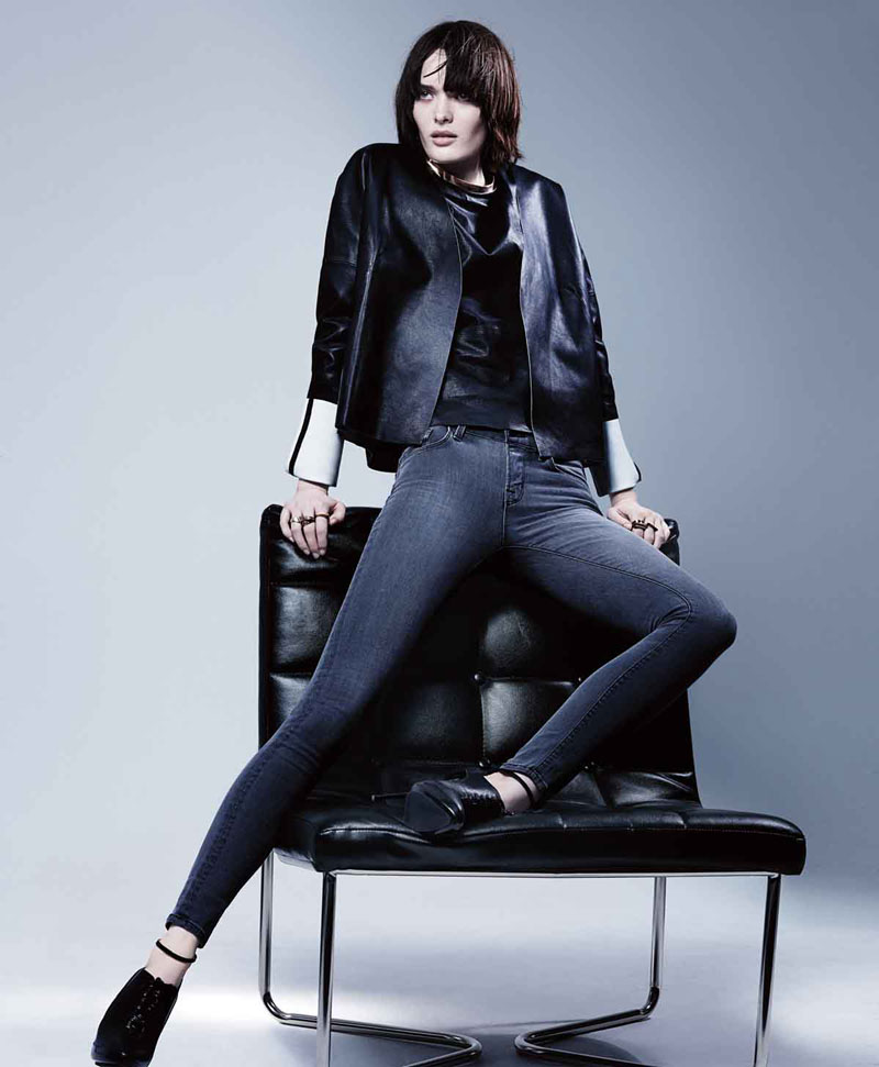 j brand1 Sam Rollinson Stars in J Brand Fall 2013 Campaign by Craig McDean