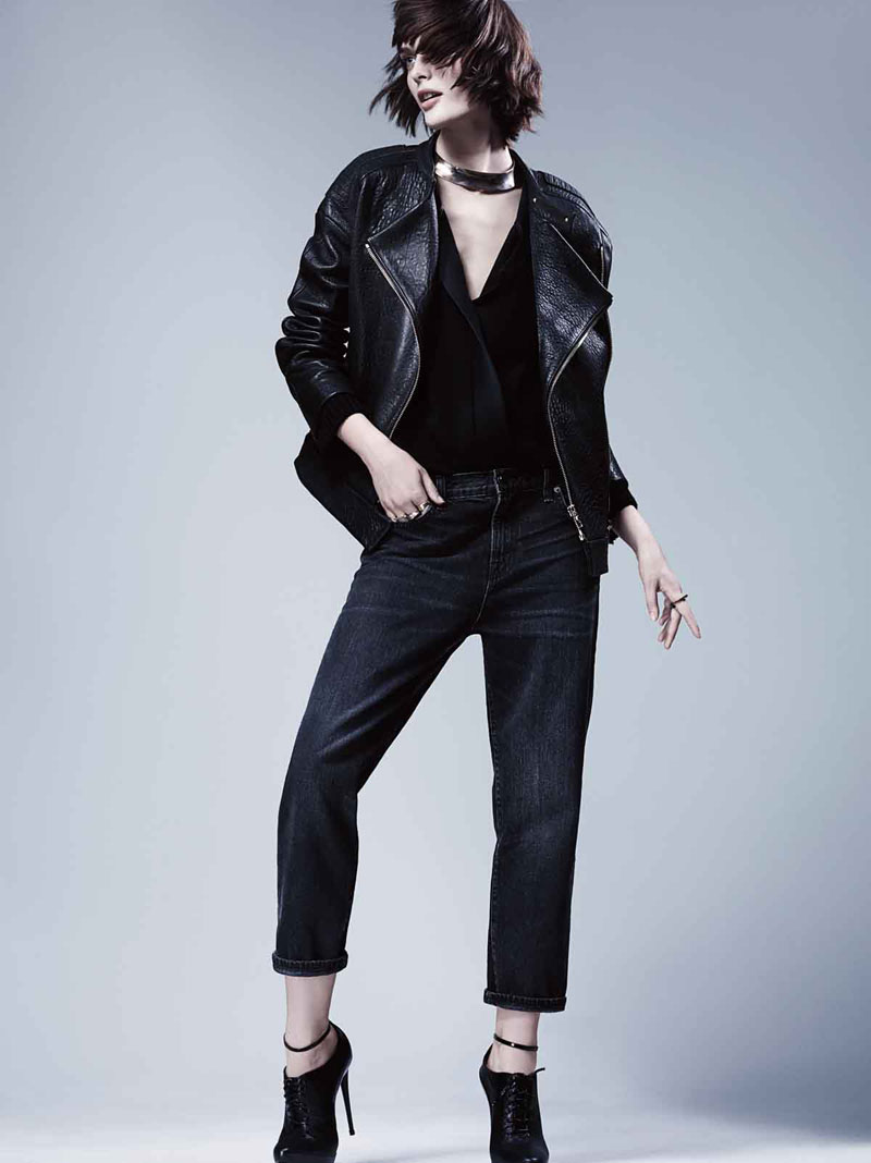 j brand3 Sam Rollinson Stars in J Brand Fall 2013 Campaign by Craig McDean