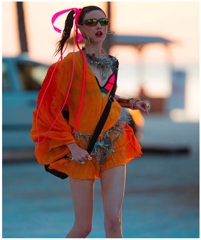 jacquelyn hans feurer dujour12 Jacquelyn Jablonski Dons Summer Style for Dujour Magazine by Hans Feurer