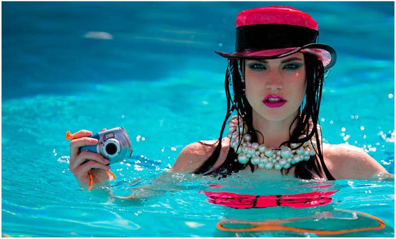 Jacquelyn Jablonski Dons Summer Style for Dujour Magazine by Hans Feurer