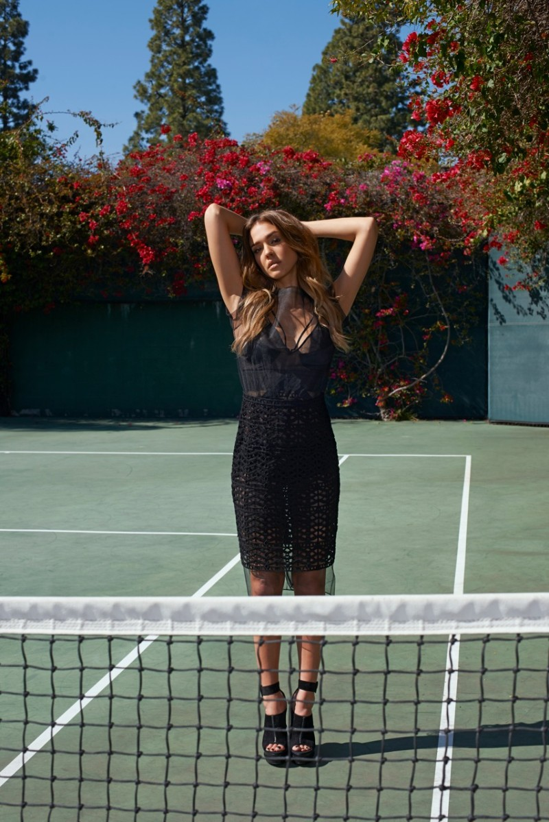 jessica alba eric guillemain2 Jessica Alba is Clean Cut for The Sunday Times Style by Eric Guillemain