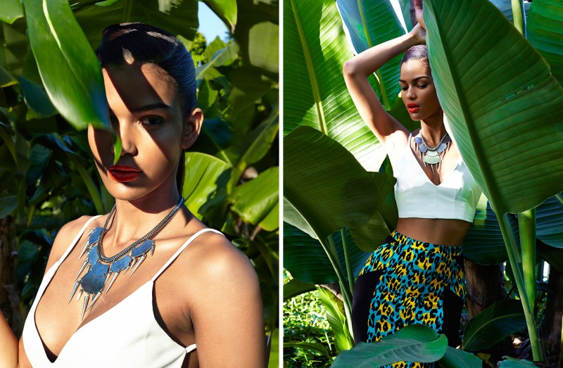 june nasty gal2 Nasty Gal Enlists Cris Urena for Tropical June Lookbook