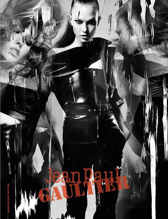 Jean Paul Gaultier Enlists Karlie Kloss for Fall 2013 Campaign