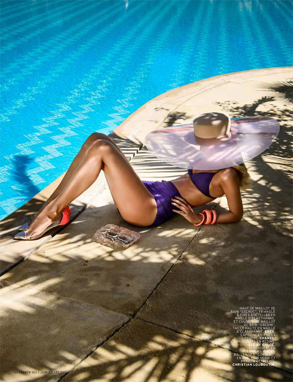 lofficiel ilse de boer2 Ilse de Boer Has a Summer Getaway for LOfficiel Paris by Thanassis Krikis