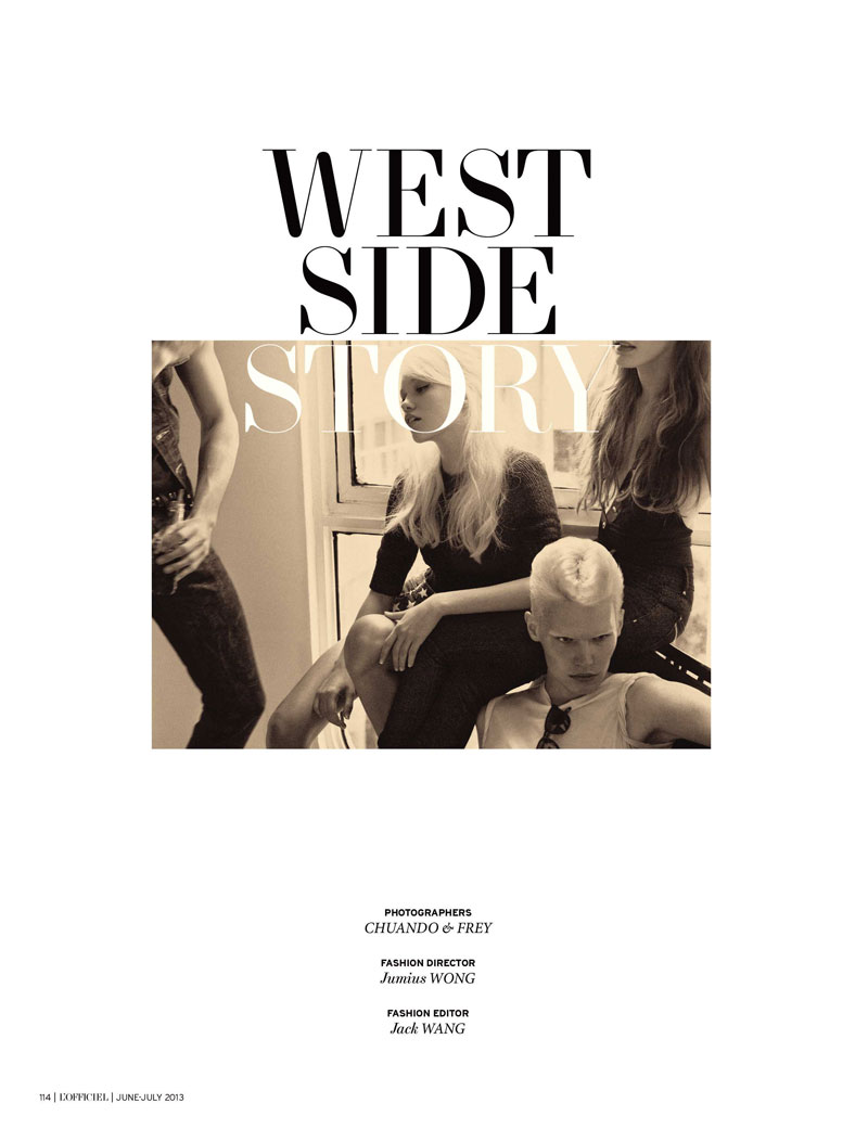 lofficiel singapore sixties9 Chuando & Frey Shoot West Side Story for LOfficiel Singapore June/July 2013