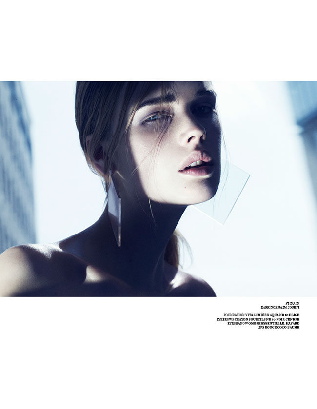 marcus ohlsson10 Marcus Ohlsson Shoots Icy Style for Scandinavia S/S/A/W 2013