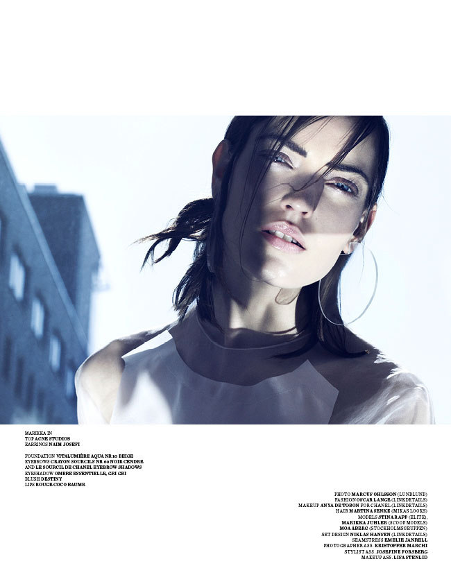 marcus ohlsson11 Marcus Ohlsson Shoots Icy Style for Scandinavia S/S/A/W 2013