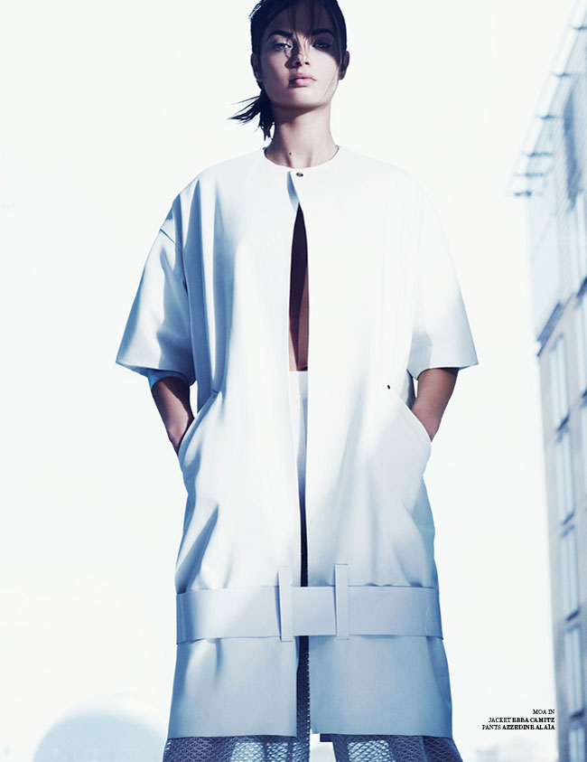 marcus ohlsson5 Marcus Ohlsson Shoots Icy Style for Scandinavia S/S/A/W 2013