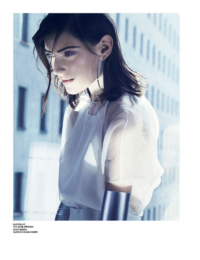 marcus ohlsson7 Marcus Ohlsson Shoots Icy Style for Scandinavia S/S/A/W 2013