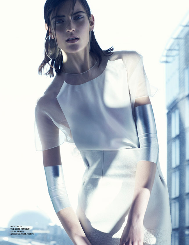 marcus ohlsson9 Marcus Ohlsson Shoots Icy Style for Scandinavia S/S/A/W 2013