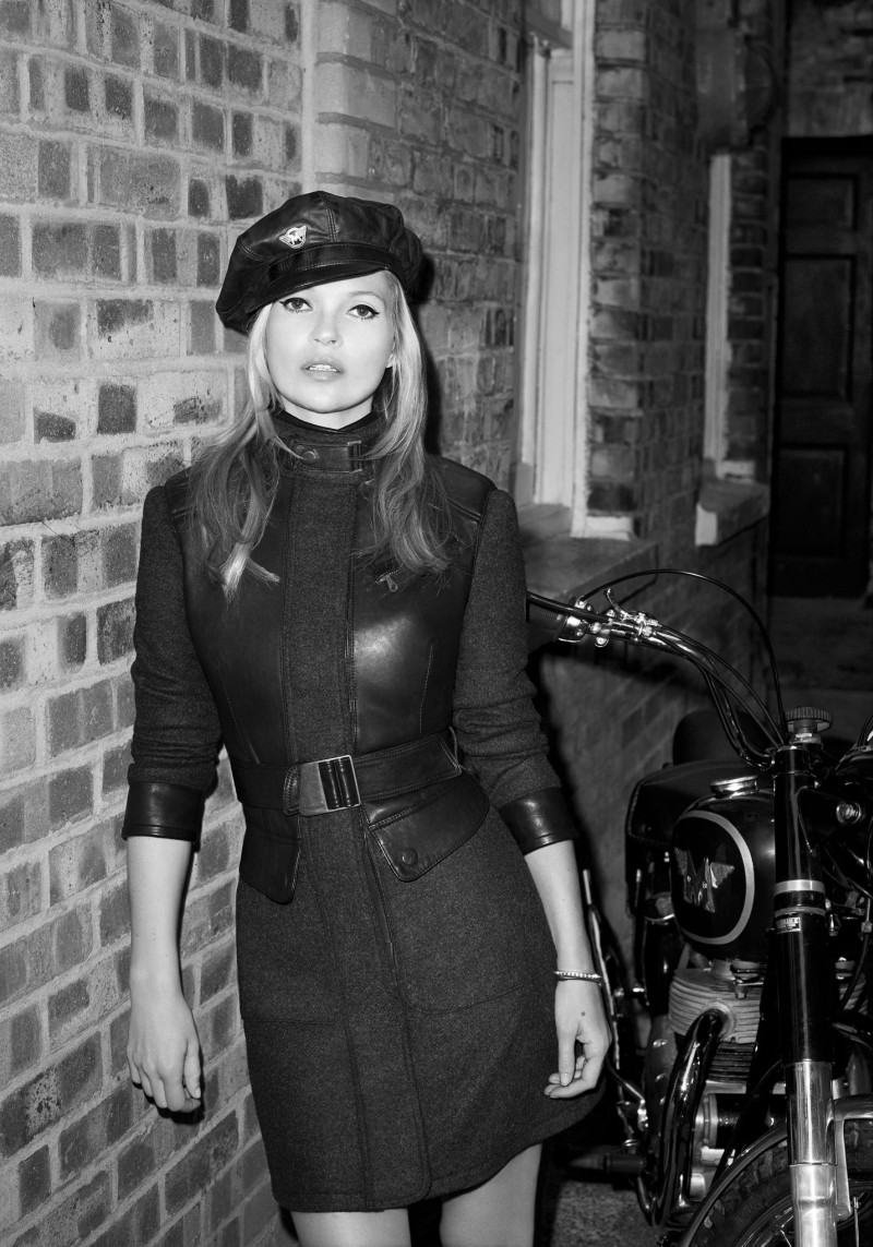 matchless kate moss4 Kate Moss is Biker Cool for Matchless Fall 2013 Campaign by Terry Richardson
