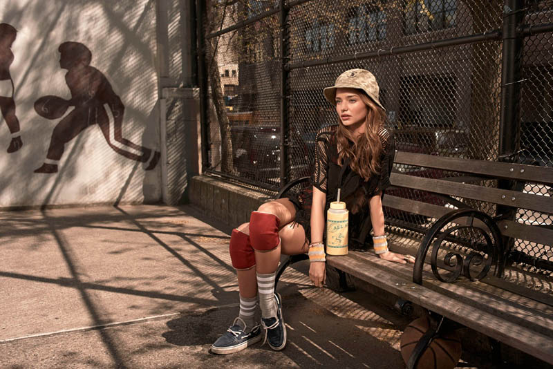 miranda kerr eric guillemain3 Miranda Kerr Gets Sporty for Vogue Korea July 2013 by Eric Guillemain