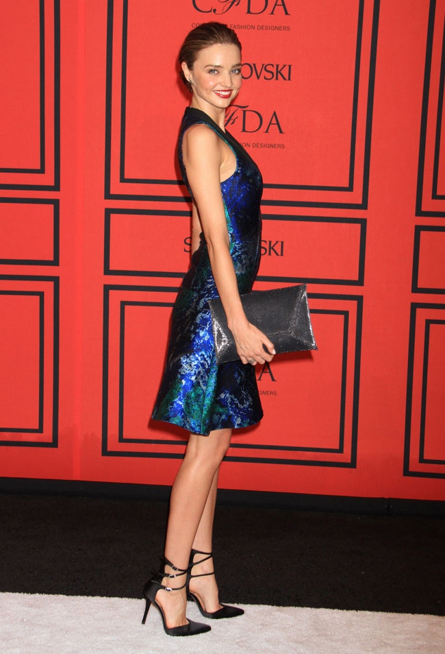 miranda kerr proenza1 Miranda Kerr Sports Proenza Schouler at the 2013 CFDA Fashion Awards