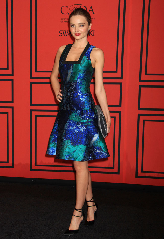 miranda kerr proenza3 Miranda Kerr Sports Proenza Schouler at the 2013 CFDA Fashion Awards