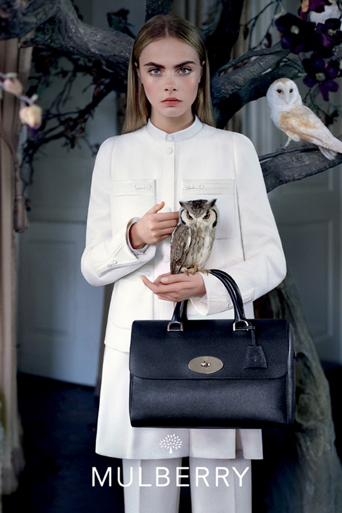 mulberry fall4 See More Mulberry Fall 2013 Ads Starring Cara Delevingne
