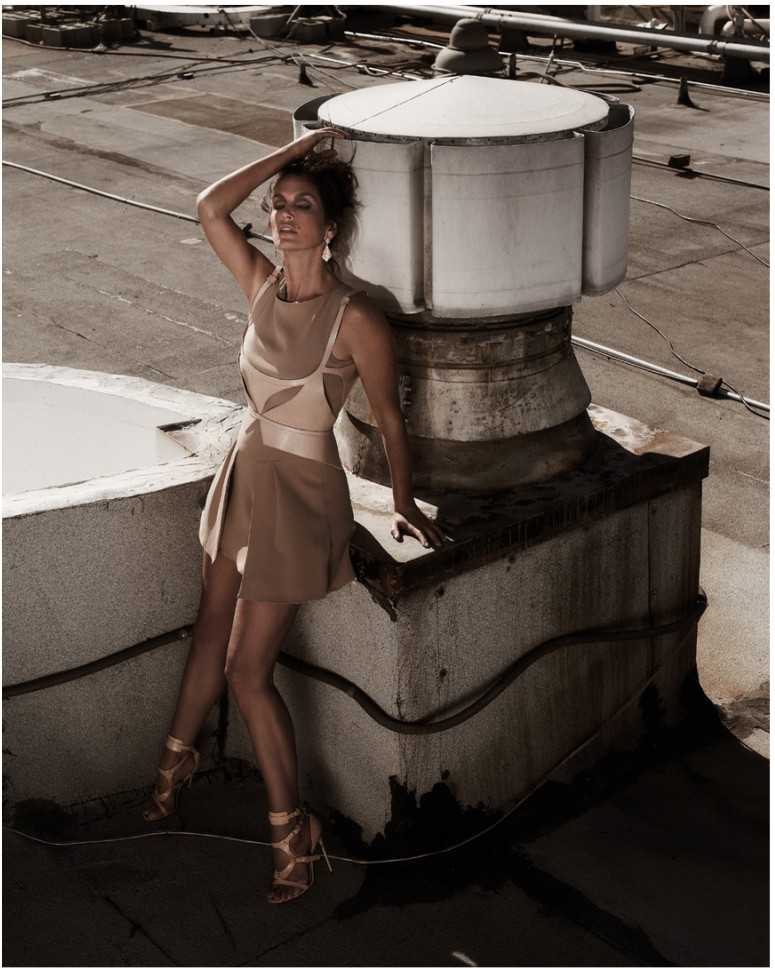 muse cindy crawford13 Cindy Crawford Poses for Mariano Vivanco in Muse Summer 2013