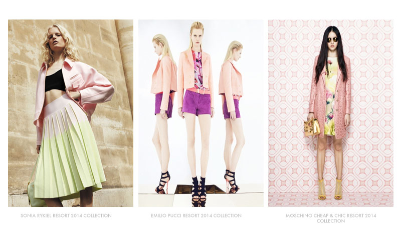 pastel resort 4 Resort 2014 Trends to Watch