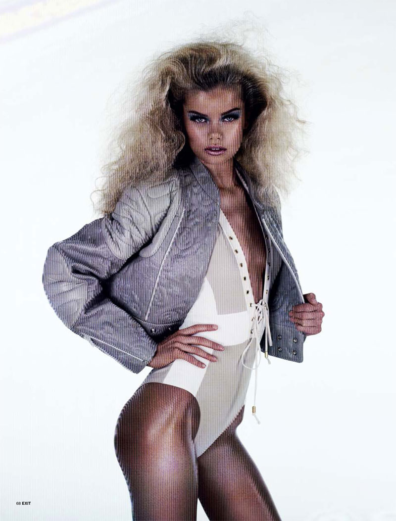 play aitken jolly12 Frida Aasen is an Arcade Star for Exit S/S 2013 by Aitken Jolly