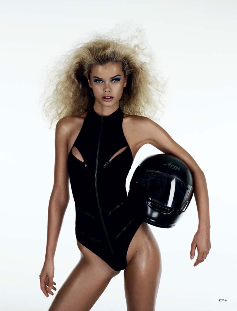 play aitken jolly5 Frida Aasen is an Arcade Star for Exit S/S 2013 by Aitken Jolly