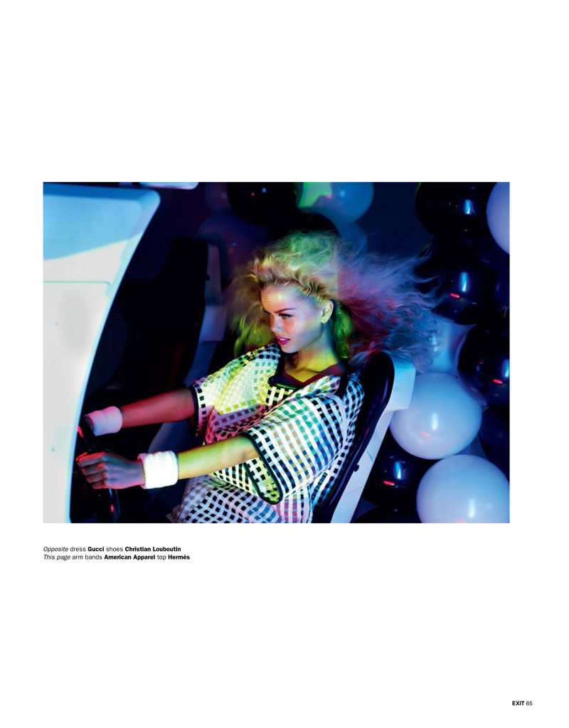 play aitken jolly9 Frida Aasen is an Arcade Star for Exit S/S 2013 by Aitken Jolly