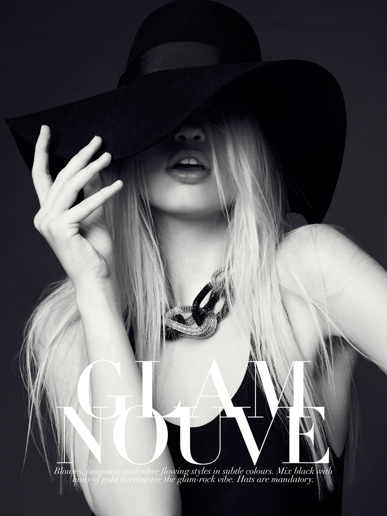 q89 daphne Daphne Groeneveld Models the New Glam for H&M Style Update