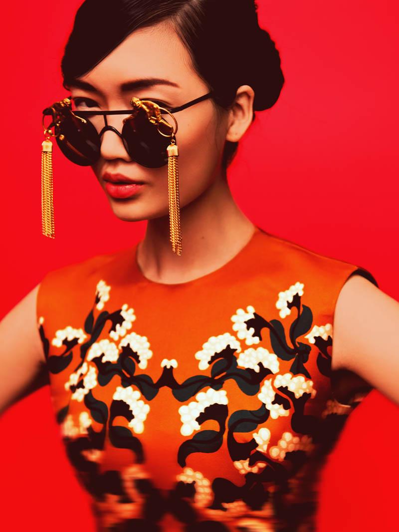 "Qi Wen by Matthew Priestley in ""Eyes Wide Open"" for Fashion Gone Rogue"