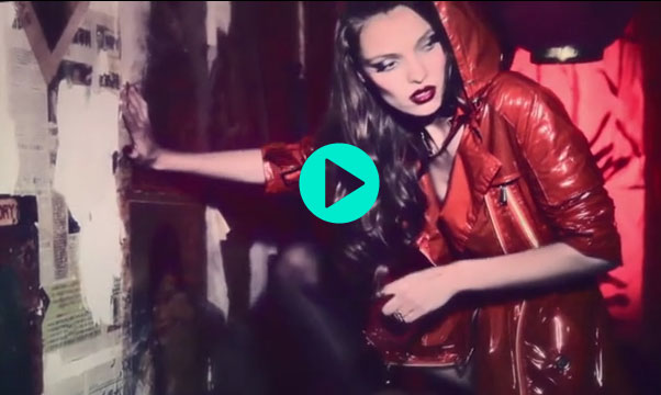 red handcuffs film Red Handcuffs Film Starring Carola Remer by Ellen von Unwerth for Vs. Magazine
