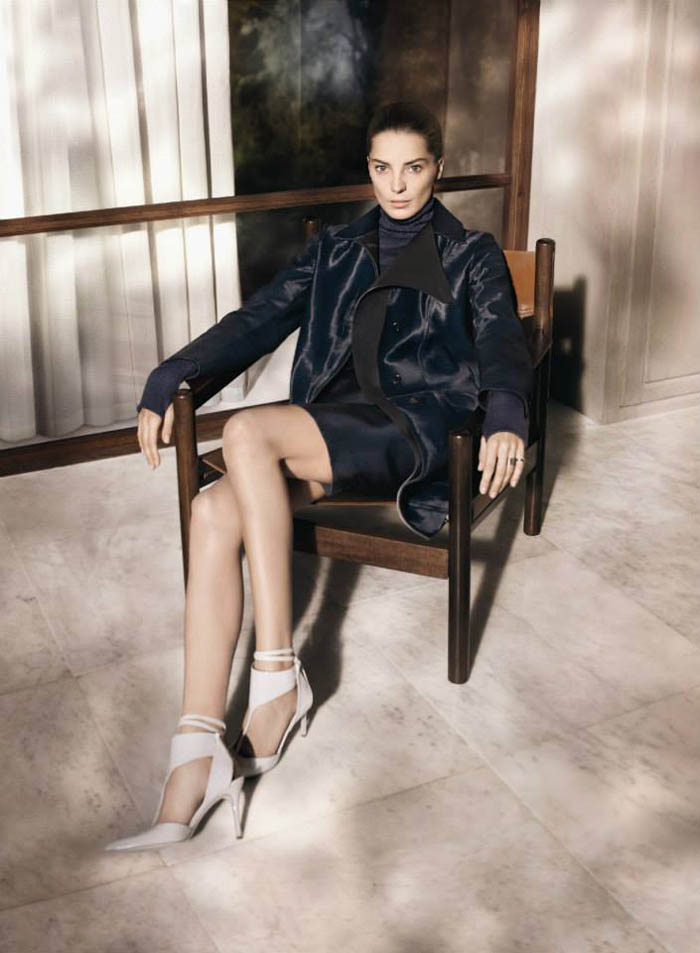 salvatore ferragamo fall1 Salvatore Ferragamo Enlists Daria Werbowy for Fall 2013 Campaign