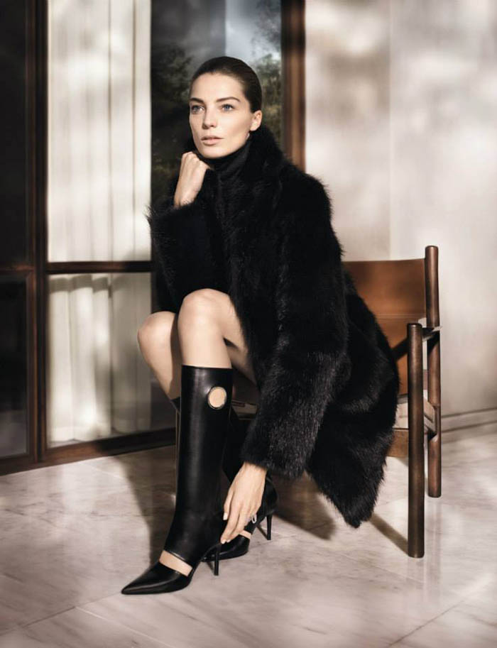 salvatore ferragamo fall3 Salvatore Ferragamo Enlists Daria Werbowy for Fall 2013 Campaign
