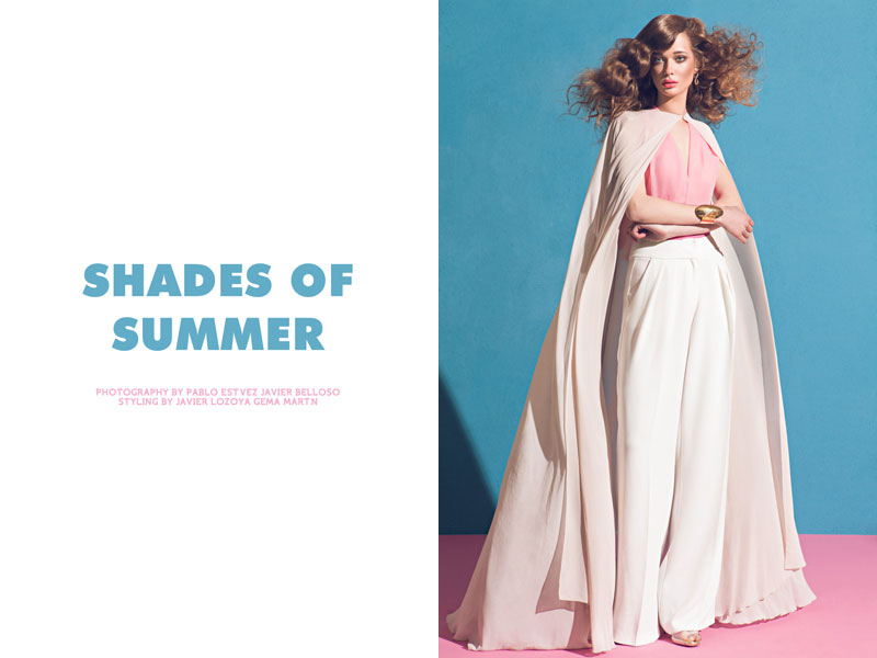 shades javier pablo Tanya Katysheva by Pablo Estévez & Javier Belloso in Shades of Summer for Fashion Gone Rogue