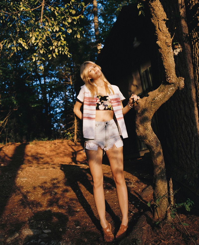summer camp uo10 Nadine and Gabby Front Urban Outfitters Summer Camp Lookbook by Colin Leaman
