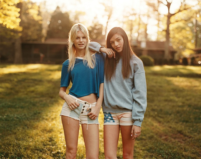 """Nadine and Gabby Front Urban Outfitters """"Summer Camp"""" Lookbook"""