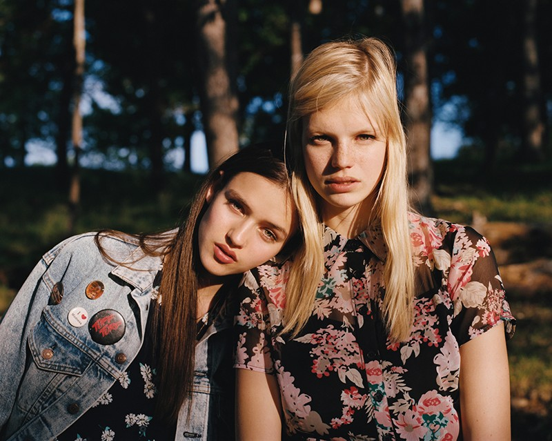 summer camp uo17 Nadine and Gabby Front Urban Outfitters Summer Camp Lookbook by Colin Leaman