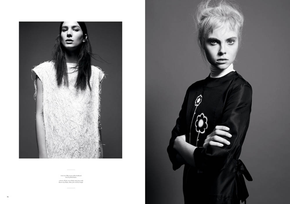 troost 2 Amy Troost Captures Up and Coming Faces for Twin S/S 2013