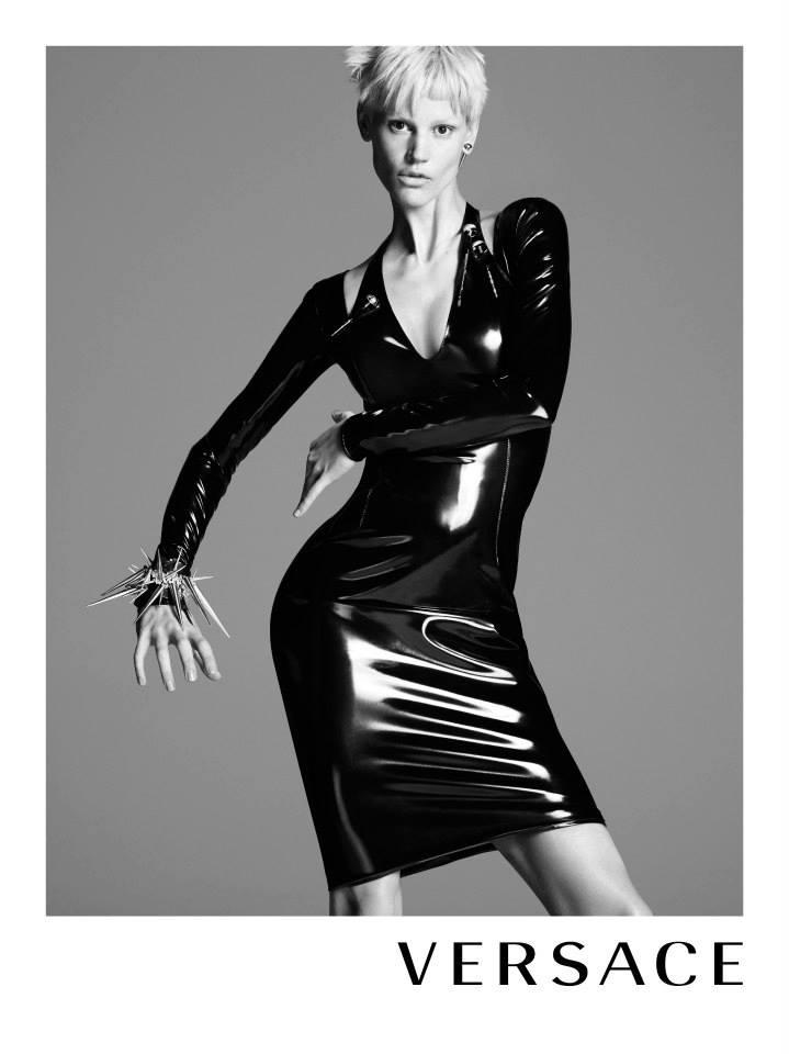 Kate Moss and Saskia de Brauw Rock Versace Fall 2013 Campaign