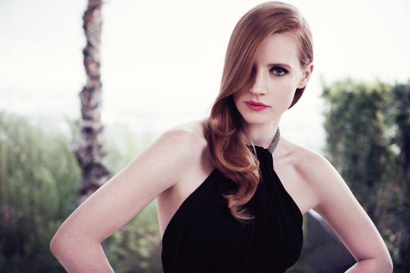 Jessica Chastain Stars in New Shots for YSL Manifesto