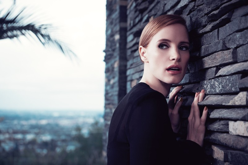 ysl manifesto2 Jessica Chastain Stars in New Shots for YSL Manifesto