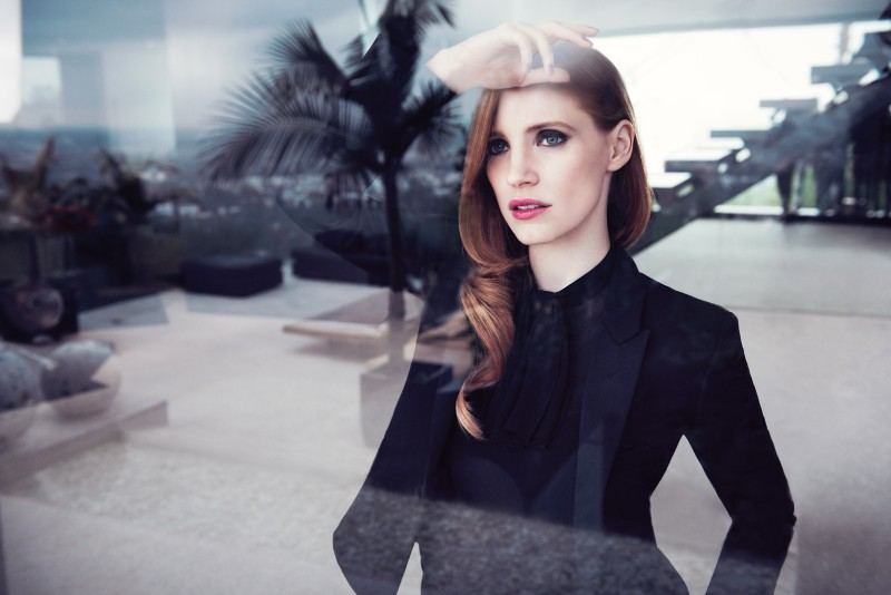 ysl manifesto3 Jessica Chastain Stars in New Shots for YSL Manifesto
