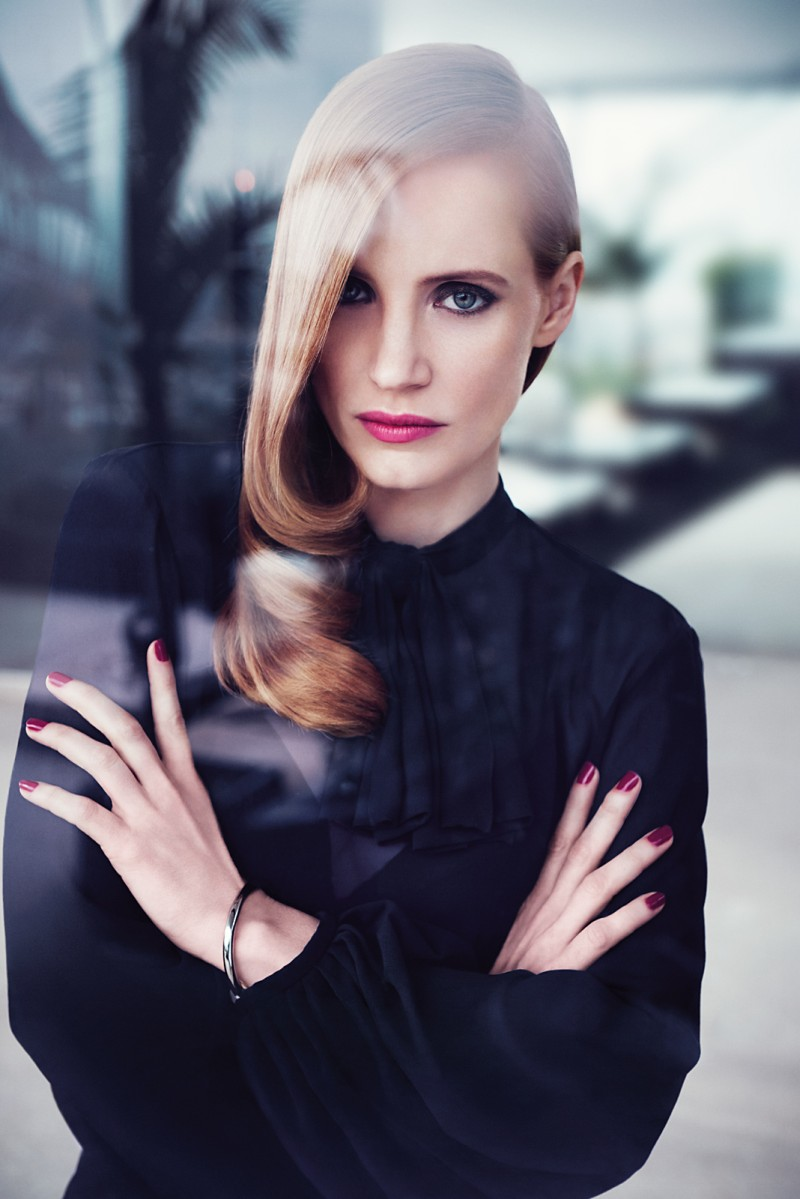 ysl manifesto4 Jessica Chastain Stars in New Shots for YSL Manifesto