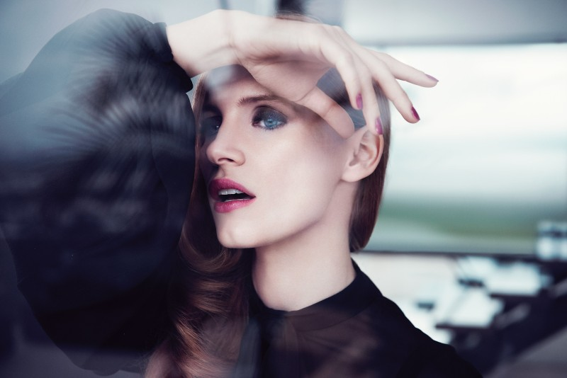 ysl manifesto5 Jessica Chastain Stars in New Shots for YSL Manifesto