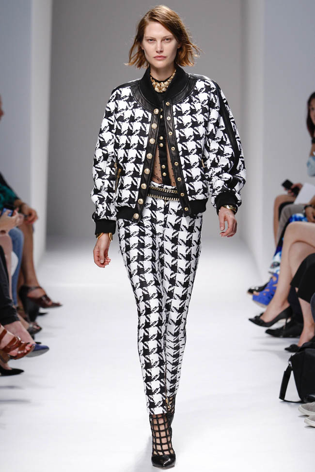balmain spring 2014 14 20 Standout Looks from Milan & Paris Fashion Week Spring/Summer 2014