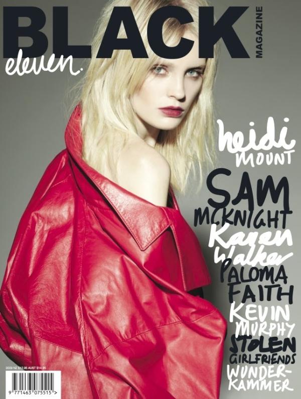 Black Magazine #11 Covers 3 & 4   Siri Tollerød & Heidi Mount