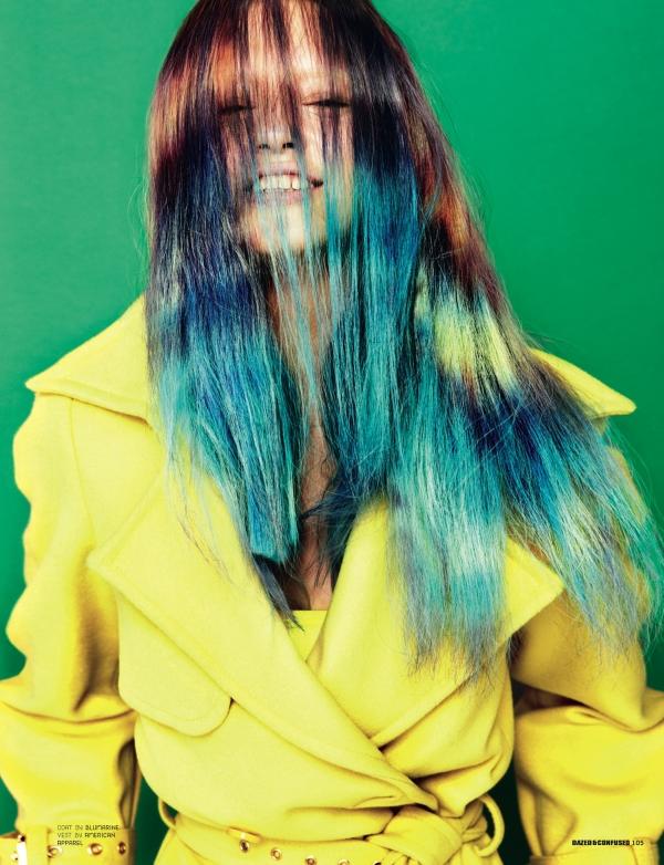 Dazed & Confused | Anastasia Kutznetsova by Mark Pillai