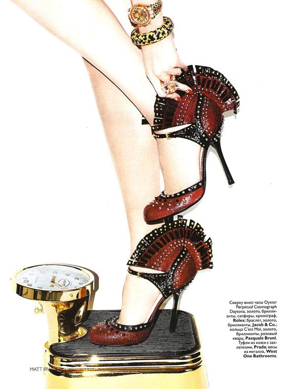 Vogue Russia Supplement | Anastasija Kondratejeva by Matt Irwin