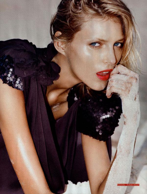 Viva! Moda Fall 2009 | Anja Rubik by Marcin Tyszka
