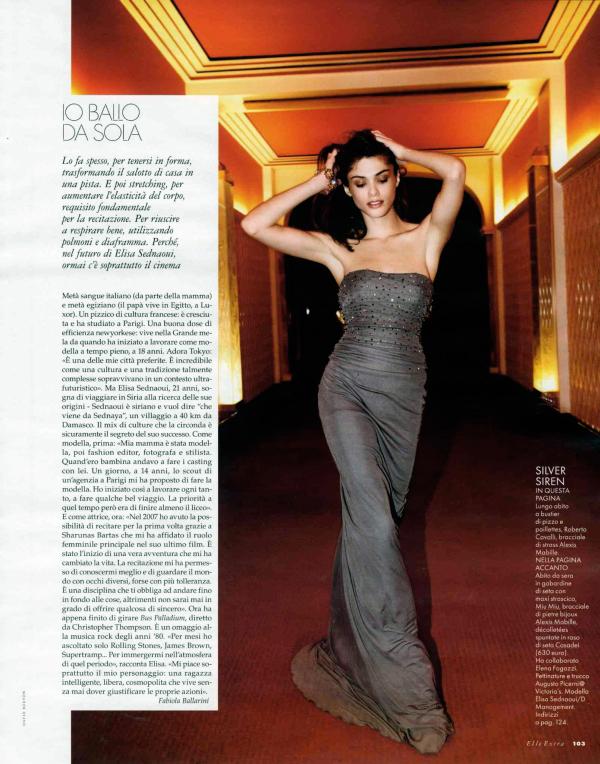 Elle Extra | Elisa Sednaoui by David Burton