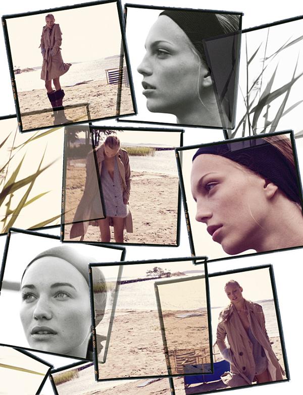 Elle Sweden November | Elin, Malin & Josefine by Jimmy Backius
