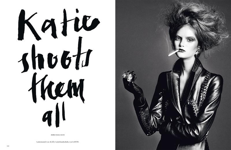 Tush #18 | Katie Fogarty by Txema Yeste