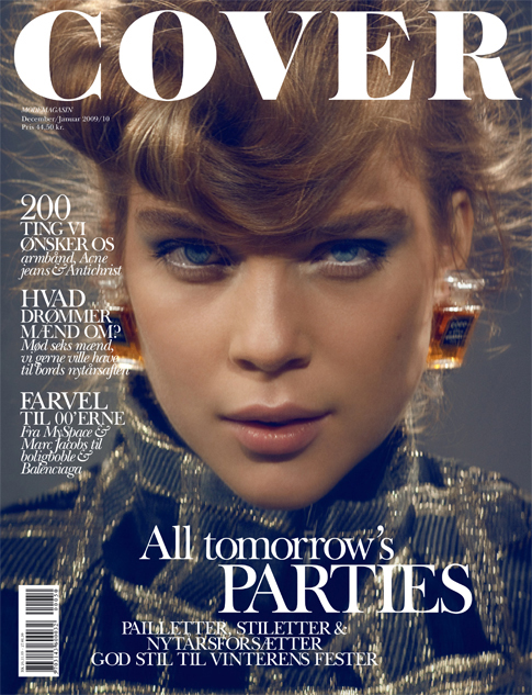 Cover | Kim Noorda for Cover Magazine Dec/Jan